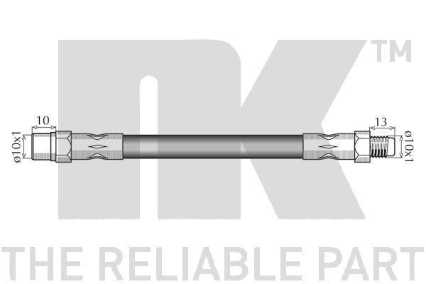 Bremsschlauch NK 854813 Bewertung