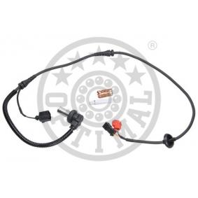Sensoren VW PASSAT Variant (3B6) 1.9 TDI 130 PS ab 11.2000 OPTIMAL Sensor, Raddrehzahl (06-S051) für