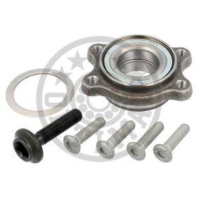 Wheel Bearing Kit Ø: 92mm, Inner Diameter: 45mm with OEM Number 3D0498607