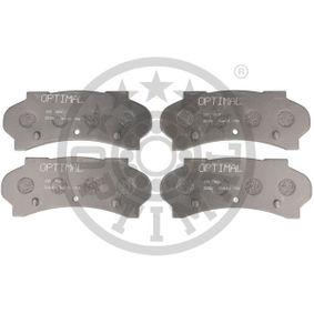 Brake Pad Set, disc brake Article № 3501 £ 140,00