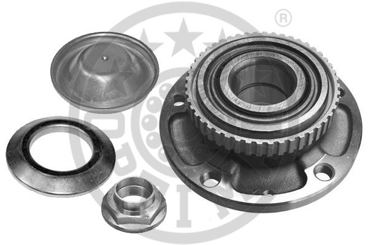 OPTIMAL  501170 Radlagersatz Ø: 139mm, Innendurchmesser: 37mm