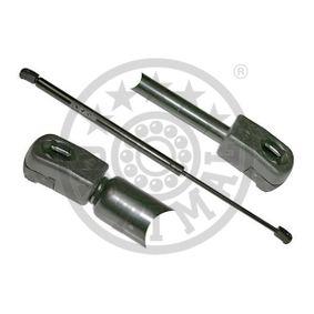 Muelle neumático, maletero / compartimento de carga Long. total: 495mm, Carrera: 182mm con OEM número 1U6 827 550 F