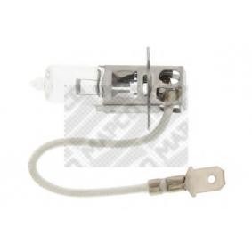 MAPCO Glühlampe, Fernscheinwerfer 103201 für AUDI COUPE (89, 8B) 2.3 quattro ab Baujahr 05.1990, 134 PS