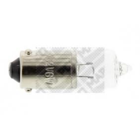 MAPCO Glühlampe, Schlußleuchte 103234 für AUDI A4 Avant (8E5, B6) 3.0 quattro ab Baujahr 09.2001, 220 PS