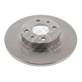 MAPCO спирачен диск (15023) за с ОЕМ-номер 51859075