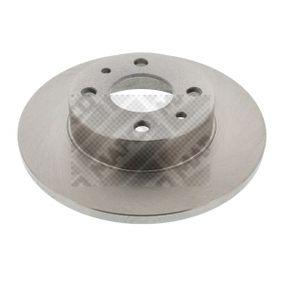 MAPCO  15033 Bremsscheibe Bremsscheibendicke: 12mm, Lochanzahl: 4, Ø: 240mm