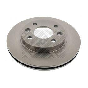 Bremsscheibe Bremsscheibendicke: 20mm, Lochanzahl: 4, Ø: 238mm mit OEM-Nummer 77007-56572