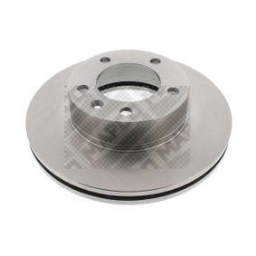 Bremsscheibe Bremsscheibendicke: 28mm, Lochanzahl: 5, Ø: 306mm mit OEM-Nummer 9111038