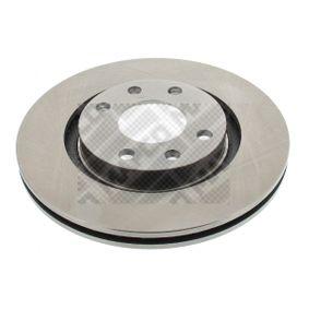 Bremsscheibe Bremsscheibendicke: 22mm, Lochanzahl: 4, Ø: 266mm mit OEM-Nummer 4246W7