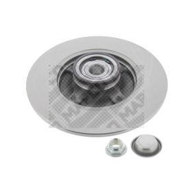 Disco de travão Espessura do disco de travão: 9mm, N.º de furos: 4, Ø: 249mm com códigos OEM 4249.34