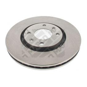 Bremsscheibe Bremsscheibendicke: 26mm, Lochanzahl: 4, Ø: 283mm mit OEM-Nummer 4249 17