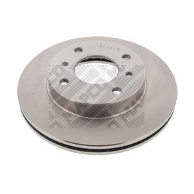 Bremsscheibe Bremsscheibendicke: 22mm, Lochanzahl: 4, Ø: 257mm mit OEM-Nummer 40206-71E06
