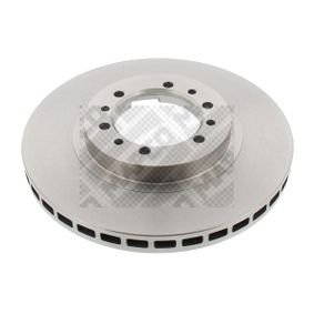 Brake Disc Brake Disc Thickness: 24mm, Num. of holes: 6, Ø: 276mm with OEM Number MR 129648