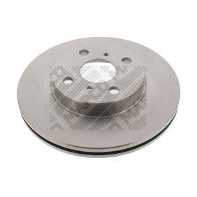 Bremsscheibe Bremsscheibendicke: 22mm, Lochanzahl: 4, Ø: 255mm mit OEM-Nummer 4351212550
