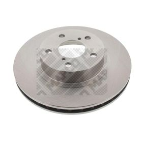 Bremsscheibe Bremsscheibendicke: 24mm, Lochanzahl: 5, Ø: 260mm mit OEM-Nummer 26310 AA031