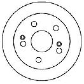 Bremsscheibe Bremsscheibendicke: 9mm, Lochanzahl: 5, Ø: 260mm, Ø: 260mm mit OEM-Nummer 42510-S87-A00
