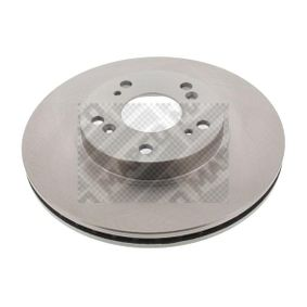 Brake Disc Brake Disc Thickness: 23,2mm, Num. of holes: 5, Ø: 282mm with OEM Number 45251-SMG-E31