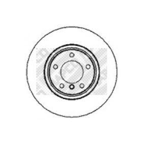Bremsscheibe Bremsscheibendicke: 28mm, Lochanzahl: 5, Ø: 316mm mit OEM-Nummer 3411 6 757 752