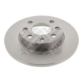 Bremsscheiben für OPEL CORSA C (F08, F68) 1.2 75 PS ab Baujahr 09.2000 MAPCO Bremsscheibe (15672) für