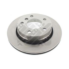 Bremsscheibe Bremsscheibendicke: 19mm, Lochanzahl: 5, Ø: 276mm mit OEM-Nummer 3421 6855 155
