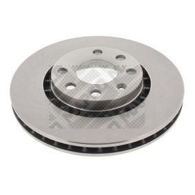 Bremsscheibe Bremsscheibendicke: 24mm, Lochanzahl: 6, Ø: 256mm mit OEM-Nummer 90487402