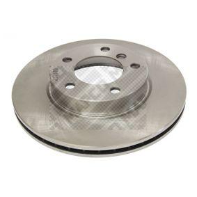 Bremsscheibe Bremsscheibendicke: 22mm, Lochanzahl: 5, Ø: 286mm mit OEM-Nummer 34 11 1 162 288