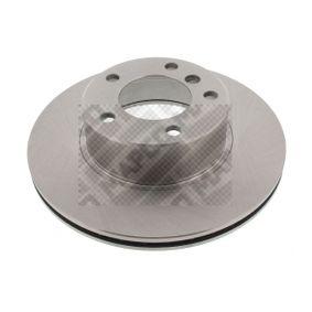 Bremsscheibe Bremsscheibendicke: 22mm, Lochanzahl: 5, Ø: 296mm mit OEM-Nummer 34 11 1 163 013