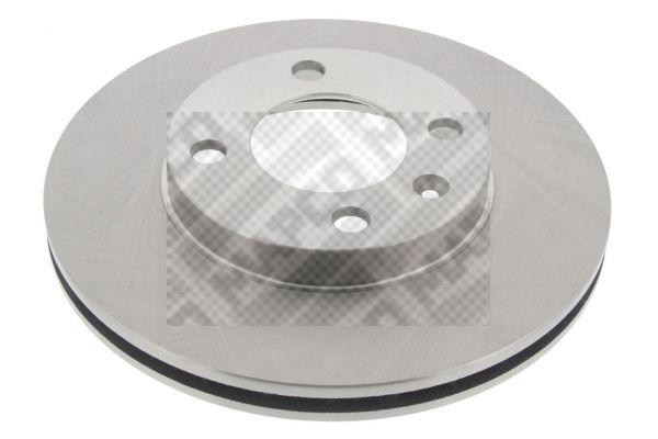 MAPCO  15770 Bremsscheibe Bremsscheibendicke: 20mm, Lochanzahl: 4, Ø: 239mm