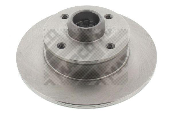 MAPCO  15772 Bremsscheibe Bremsscheibendicke: 10mm, Lochanzahl: 4, Ø: 226mm