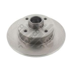 Bremsscheibe Bremsscheibendicke: 10mm, Lochanzahl: 4, Ø: 226mm mit OEM-Nummer 191615601A