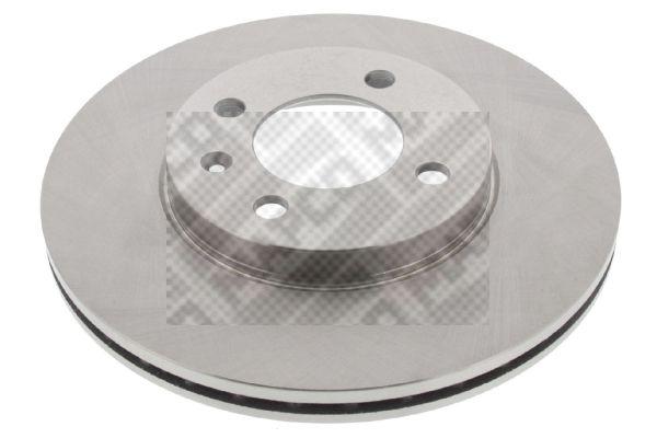 MAPCO  15773 Bremsscheibe Bremsscheibendicke: 20mm, Lochanzahl: 4, Ø: 256mm