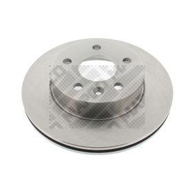 Bremsscheibe Bremsscheibendicke: 22mm, Lochanzahl: 5, Ø: 276mm mit OEM-Nummer 6384210112
