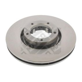 MAPCO  15823 Bremsscheibe Bremsscheibendicke: 24mm, Lochanzahl: 5, Ø: 254mm