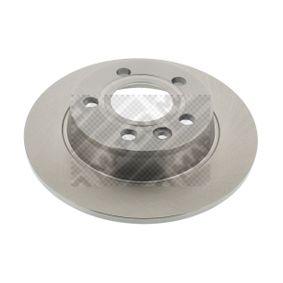Bremsscheibe Bremsscheibendicke: 10mm, Lochanzahl: 5, Ø: 268mm mit OEM-Nummer 1 137 985