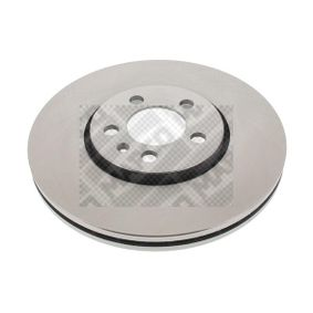 Bremsscheibe Bremsscheibendicke: 25mm, Lochanzahl: 5, Ø: 288mm mit OEM-Nummer 6R0615301D