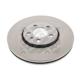 Bremsscheibe Bremsscheibendicke: 25mm, Lochanzahl: 5, Ø: 288mm mit OEM-Nummer 1J0.615.301S