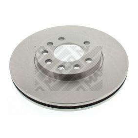 Bremsscheibe Bremsscheibendicke: 24,8mm, Lochanzahl: 5, Ø: 280mm mit OEM-Nummer 91 176 78