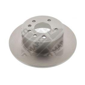 Bremsscheibe Bremsscheibendicke: 10mm, Lochanzahl: 5, Ø: 286mm mit OEM-Nummer 483 9338