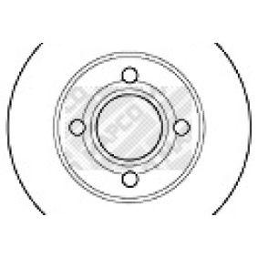 Bremsscheibe Bremsscheibendicke: 13mm, Lochanzahl: 4, Ø: 256mm mit OEM-Nummer 895615301