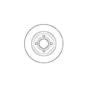 Bremsscheibe Bremsscheibendicke: 13mm, Lochanzahl: 4, Ø: 280mm mit OEM-Nummer 8A0 615 301 D