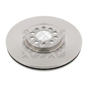 Bremsscheibe Bremsscheibendicke: 25mm, Lochanzahl: 5, Ø: 312mm mit OEM-Nummer 8N0 615301A