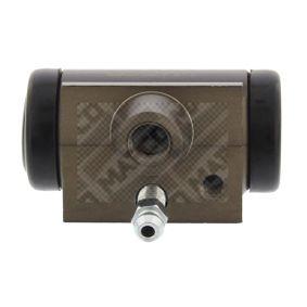 Radbremszylinder Ø: 17mm mit OEM-Nummer 7701047838