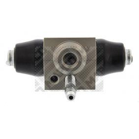 Cilindro de freno de rueda Calibre Ø: 17,46mm con OEM número 6QE611053