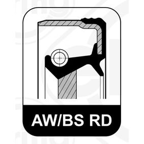 Shaft Seal, crankshaft 290.710 PUNTO (188) 1.2 16V 80 MY 2004