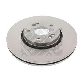 Bremsscheibe Bremsscheibendicke: 26mm, Lochanzahl: 5, Ø: 300mm mit OEM-Nummer 77.01.206.614