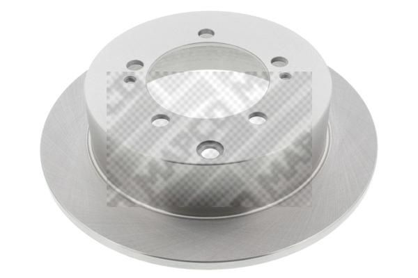 MAPCO  25544 Disque de frein Epaisseur du disque de frein: 10mm, Nbre de trous: 5, Ø: 260mm
