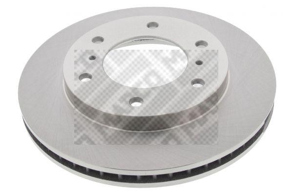 MAPCO  25548 Disque de frein Épaisseur du disque de frein: 25mm, Nbre de trous: 6, Ø: 290mm