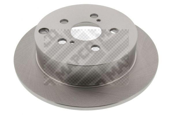 MAPCO  25564 Disque de frein Epaisseur du disque de frein: 9mm, Nbre de trous: 5, Ø: 269mm