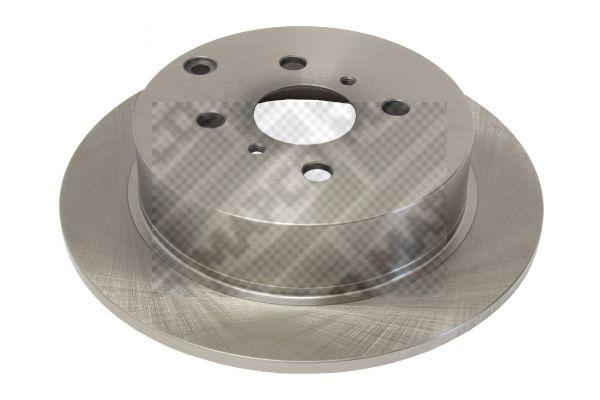 MAPCO  25565 Disque de frein Epaisseur du disque de frein: 9mm, Nbre de trous: 4, Ø: 268mm