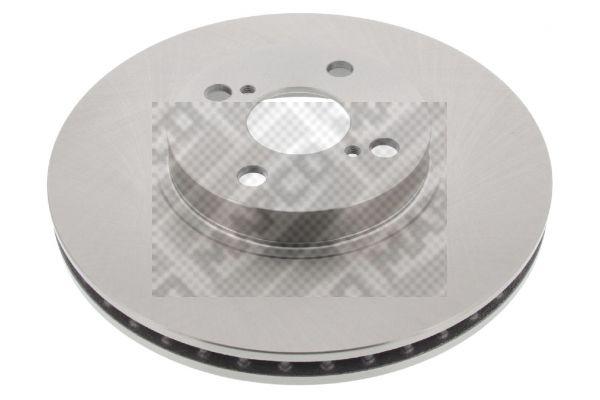 MAPCO  25567 Disque de frein Epaisseur du disque de frein: 25mm, Nbre de trous: 4, Ø: 275mm